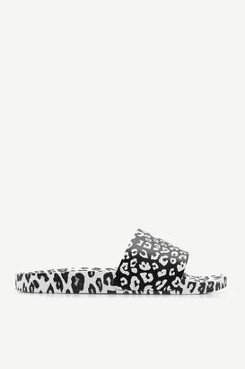 Ardene Leopard Print Pool Slides