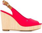 Tommy Hilfiger slingback wedge sandals