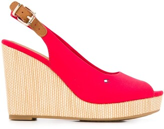 Tommy Hilfiger Slingback Wedge Sandals