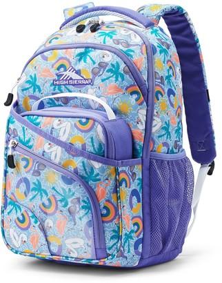 High Sierra Wiggie Lunch Kit & Backpack Set