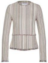 HUGO BOSS Multi-Stripe Cotton Fringed Blazer Kolara 4 Patterned