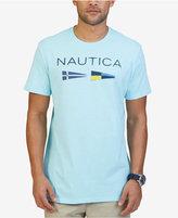 Nautica Men's Big & Tall Graphic Print Flag Logo T-Shirt