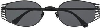 Mykita Studio round-frame sunglasses