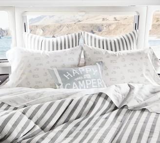 Pottery Barn Airstream Del Mar Organic Cotton Sheet Set