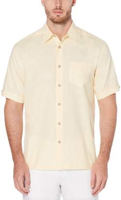Cubavera Linen Cotton Chest Pocket Shirt