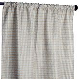 "Pier 1 Imports Textured Waffle Smoke Blue 84"" Curtain"