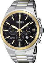 Citizen Men's Chronograph Quartz Two-Tone Stainless Steel Bracelet Watch 40mm