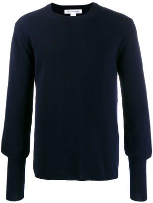 Comme des Garçons Shirt Plain Slim-Fit Jumper
