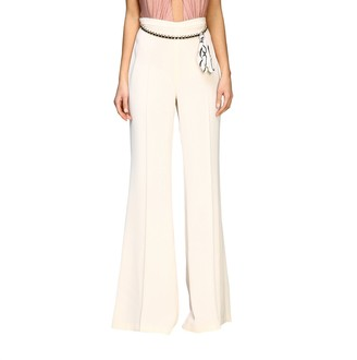 Elisabetta Franchi Suit Trousers With Chain