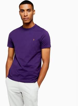 Farah TopmanTopman Bright Purple Dennis Short Sleeve T-Shirt*