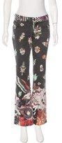 Just Cavalli Mid-Rise Printed Pants