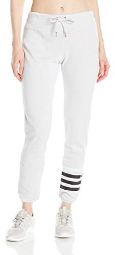 Betsey Johnson Women's Logo Stripe Icy Wash Pant