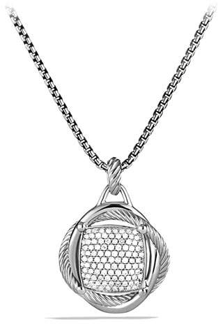 David Yurman 20mm Pave Diamond Infinity Enhancer