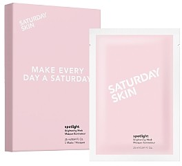 Saturday Skin Spotlight Brightening Sheet Mask, Set of 5