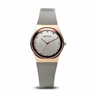 Bering Womens Analogue Quartz Watch with Stainless Steel Strap 12927-064