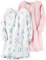 Carter's 2 Pack Gowns (Toddler/Kid) - Print - 4