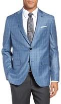 Ted Baker Tivoli Trim Fit Plaid Wool Sport Coat