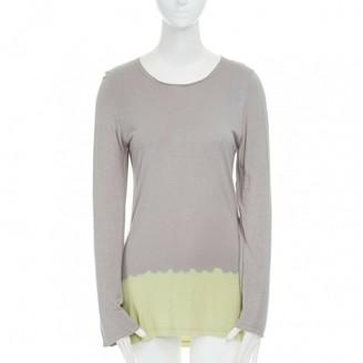 Comme des Garcons Yellow Cotton Top for Women