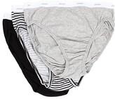 Jockey Plus Size Classics French Cut 3-Pack (Grey Heather/Simple Stripe/Black) Women's Underwear