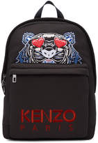 Kenzo Black Limited Edition Tiger Backpack