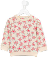 Stella McCartney floral print sweatshirt - kids - Cotton - 6 mth