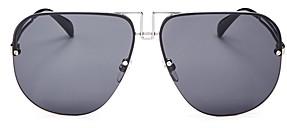 Givenchy Women's Brow Bar Aviator Sunglasses, 64mm