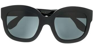 Emmanuelle Khanh Oversized Tinted Sunglasses