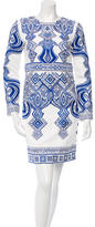 Emilio Pucci Resort 2015 Embroidered Dress