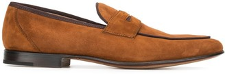 Stemar Trimmed Low-Heel Loafers