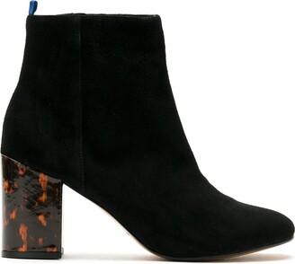 Blue Bird Shoes Turtle block 85mm boots