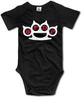 TLK Baby Onesie TLK 5FDP Five Finger Death Punch Band Logo Babys Bodysuit Baby Onesie Size 6 M