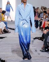 Michael Kors Sequined Dip-Dye Trousers