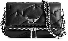 Zadig & Voltaire Quilted-Leather Chain-Strap Handbag