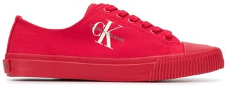 Calvin Klein Jeans low-top canvas sneakers