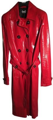 Dolce & Gabbana Red Coat for Women