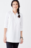 J. Jill Cotton-Stretch High-Low Tunic
