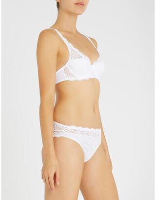Triumph Amourette 300 stretch-lace underwired bra