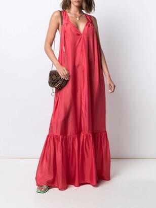 Kalita silk maxi dress