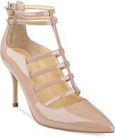 Ivanka Trump Domin Caged Pointed-Toe Pumps