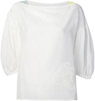 Tsumori Chisato embroidered detail blouse