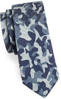 Haight And Ashbury Camouflage Cotton Slim Tie