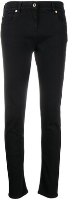 Valentino VLTN logo embellished jeans