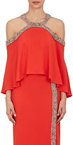 Monique Lhuillier Women's Embellished Sleeveless Blouse