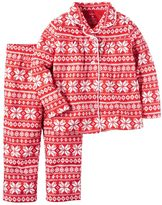 Carter's Girls 4-14 Print Pajama Set