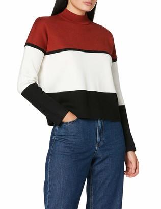 New Look Women's Colour Block Regular Fit Long Sleeve Jumper