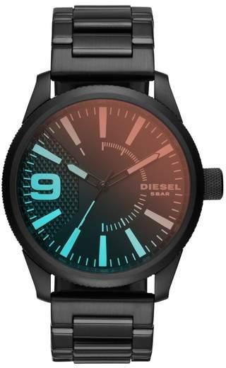 Diesel R) Rasp Bracelet Strap Watch, 46mm x 53mm