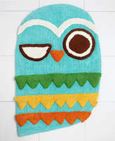 Creative Bath Rug, Give a Hoot Bedding