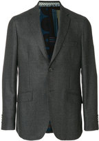 Etro printed single-breasted blazer