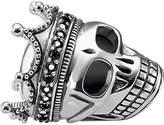 Thomas Sabo Skull King sterling silver karma bead