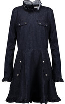J.W.Anderson Ruffle-Trimmed Denim Mini Dress